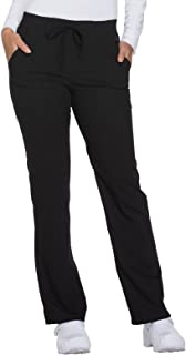 Xtreme Stretch DK112 Mid Rise Straight Leg Drawstring Pant
