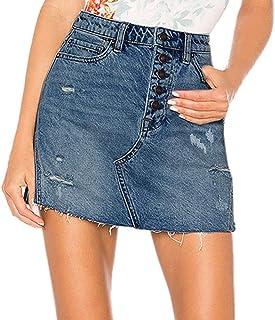 0187b812d Amazon.es: pantalon vaquero - Faldas / Mujer: Ropa