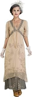 Nataya 40007 Women's Titanic Vintage Style Wedding Dress in Sage