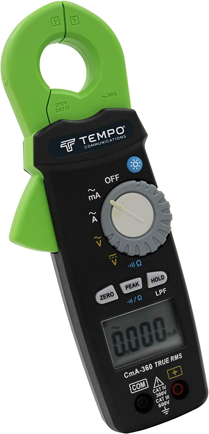 Milliamp Clamp Meter Max 43% OFF by Tempo - Communications Irrigation Max 44% OFF 2-Wire