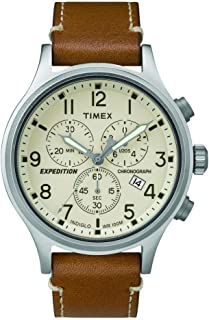 Timex Men's TW4B09200 Year-Round Chronograph Quartz Brown Watch