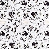 Fabulous Fabrics Disney Cretonne Minnie Schleifen – Weiss
