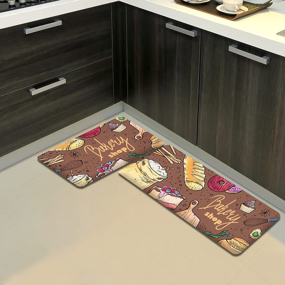 LilyCat Anti-Fatigue Cushioned Kitchen Floor Mat Wat Atlanta Mall Extra Long Japan's largest assortment