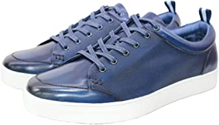 Men's Sneakers Leather Casual Shoes Non Slip Business...