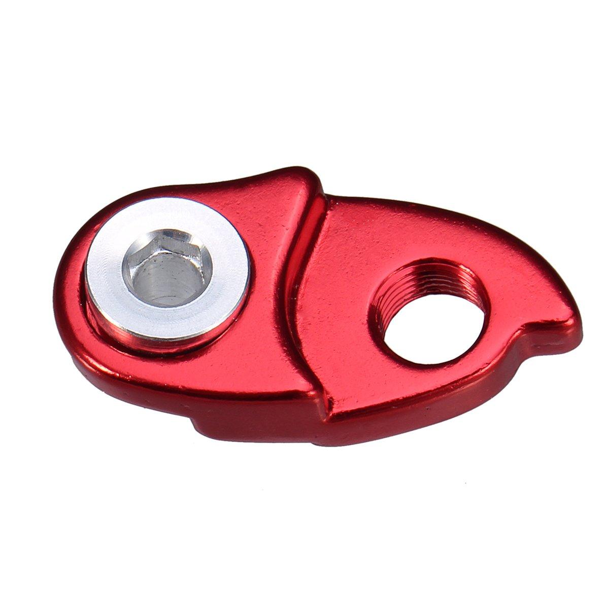 50 T; de la marca VORCOOL 42 T 46 T rojo Gancho trasero para cambio de marchas de bicicleta de monta/ña o carretera con adaptador de extensi/ón para cassette de bicicleta Shimano 40 T