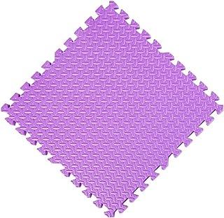 YANGJUN Interlocking Foam Mats Kids Foam Play Mat Tiles Floor Jigsaws Interlock Solid Color Baby Non-slip Protection Anti-...