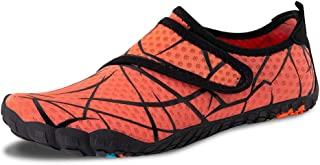 HL-jazece Mens Womens Water Shoes Barefoot Quick-Dry Shoes for Running Swim Diving Surf Aqua Sports Pool Beach Walking Yoga