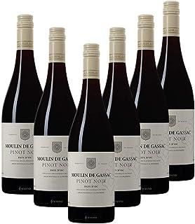 Moulin de Gassac Pinot Noir, Red Wine, 750ml (Case of 6)