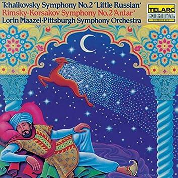 """Tchaikovsky: Symphony No. 2 """"Little Russian"""" / Rimsky-Korsakov: Symphony No. 2 """"Antar"""""""
