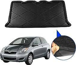 Piaobaige Car Styling Tronco Estera del Piso del Piso de la Bandeja del trazador de líneas de Carga Posterior de la Alfombra de Equipaje Mud Protector Pad para Toyota Yaris 2010-2013