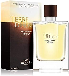 HERMES Terre D'Herm Eau Intense Vetiver Eau De Parfum for Men, 3.4 Ounce