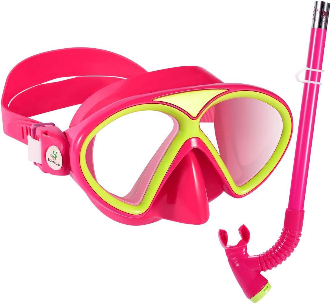 KUYOU Kids Product Snorkel Set Children G Diving Max 53% OFF Swimming Anti-Fog Mask