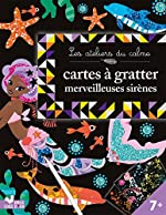 Cartes à gratter - Merveilleuses sirènes de Marie-Rose Boisson