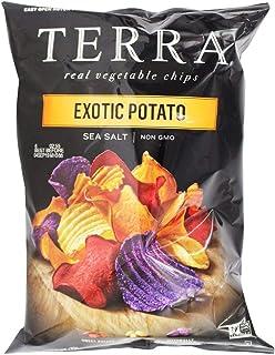 Terra Exotic Harvest Vegetable Chips with Sea Salt, 6 Oz (Pack of 12)
