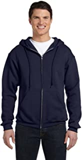Russell Athletic Men's Dri-Power Fleece Full-Zip Hood, J Navy, Small
