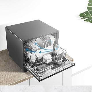 RAPLANC Hogar máquina lavavajillas Integrado en el Escritorio de Doble Uso se Puede Instalar de Forma rápida 25min Lavado lavaplatos automático
