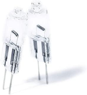 G4 20w 12v Halogen Light Bulbs – Set of 10 – 100% Dimmable – Best for Warm White Light – Long Lasting – Easy Installation – Just Like The Expensive Name Brands