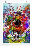 Eau Zone Home Bild - Digitale Grafik – Ornamentales Auge-