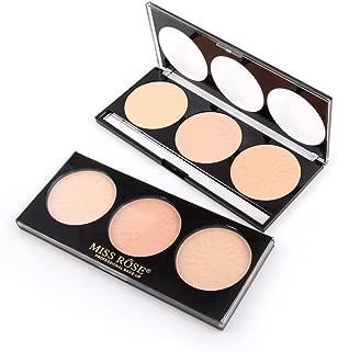 3 Color makeup multi-tasking Concealer Contour highlighter Palette (1)