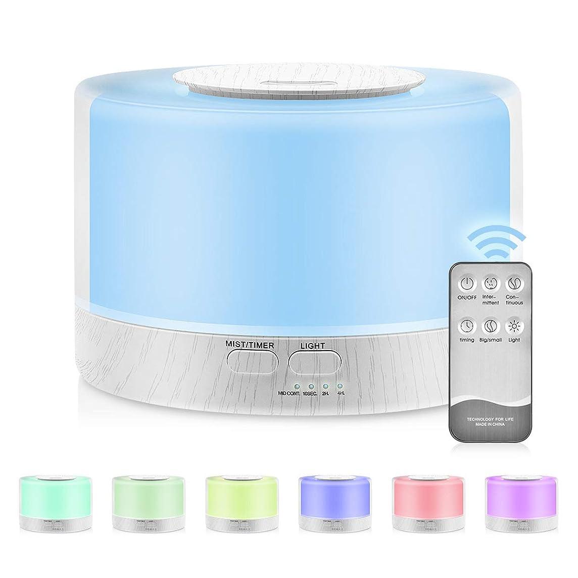 ふける一般的にピニオン700mlプレミアムエッセンシャルオイルディフューザー5 in 1超音波アロマセラピーフレグランスオイル気化器加湿器タイマーおよび自動オフ安全スイッチ,UKplug