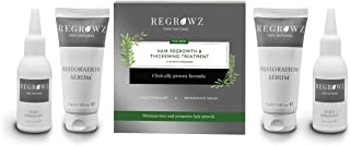 Regrowz Natural Hair Thickening & Regrowth Treatment For Men (6-month Formula)