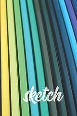 Sketch | Colored Pencils: Sketchbook (Paperback) Paperback