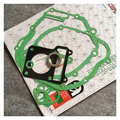 GIAOGIAO Ajuste para 125CC Yamaha YBR 125 Accesorios para Motocicletas Motor de Motocicleta Kit de Juntas Completas 1 Conjunto Scooter Cilindras de Cilindros Piezas de Sello Completo