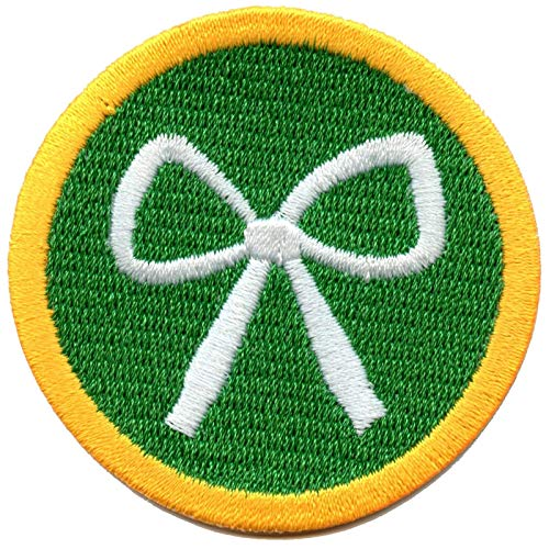 Shoelace Tying Badge Knot Wilderness Scout Sash Patch Iron On Embroidered