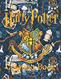Harry Potter Coloring Book: Magical Places Characters & Creatures Illustrations Amazing Coloring Books for Adults and Kids, Hogwarts Harry Potter Coloring Books