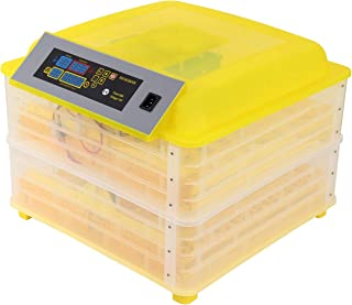 XuanYue Egg Incubator Automatic 112 Egg Digital Incubators Turning Chicken Built-in LED Candler Hatching Eggs Hatcher for Chicken Ducks Goose Poultry Pigeon Quail
