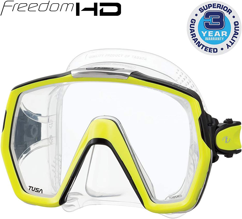 (Fluorescent Yellow)  TUSA Freedom HD Mask