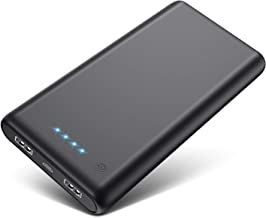 Kilponen Portable Charger Power Bank 24800mah,High Capacity Portable Battery Charger with 2 USB Output Recharging External Battery Pack Phone Charger for Smart Phone, Android Phone, Tablet and More.