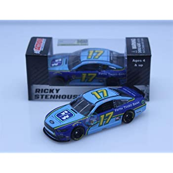 Lionel Racing, Ricky Stenhouse Jr, Fifth Third Bank, 2019, Ford Mustang, NASCAR Diecast 1: 64 Scale