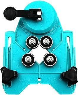 ZLYO ドリルガイド 位置決めガイド 調節可能 4-83mm ガイドプレート ダイヤコア ドリル 大理石 ホールソー ガラス セラミックタイル