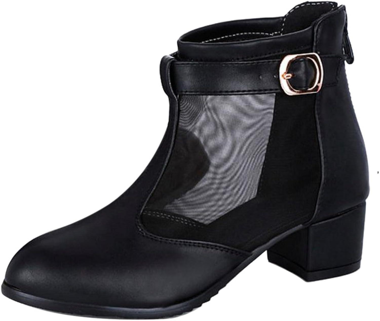 KemeKiss Women Mid Block Heels Pumps