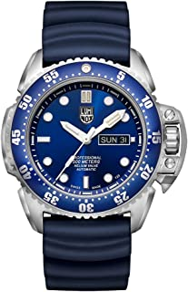 Luminox Men's SEA Stainless Steel Swiss-Automatic Watch with Rubber Strap, Blue, 24 (Model: 1523)