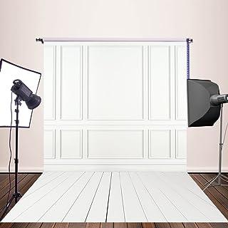 Nivius Photo 150/x 300/cm gris Bokeh Studio fondo fotogr/áfico fondo negro desaparece en vinilo impreso con suelo blancos para reci/én nacidos D-9732