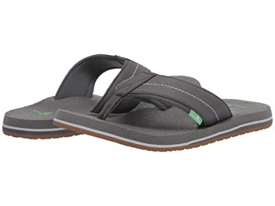 Sanuk Beer Cozy 2 (Charcoal/Charcoal) Men