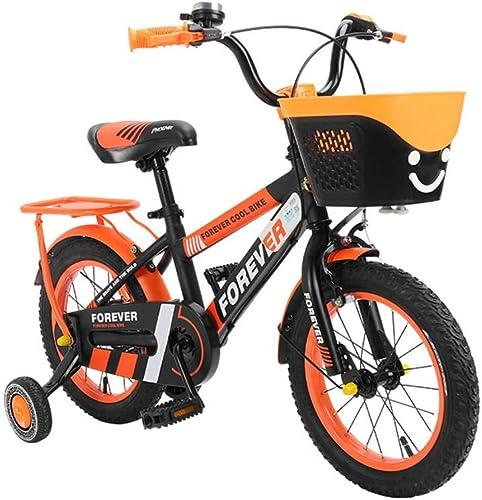 gran descuento DT Bicicleta para Niños 2-3-4-6-7-8-9-10 años años años Bebé 12 14 Pulgadas Bicicleta Niño niña Hombre Bicicleta Carro de bebé (Tamaño   14 Inches)  marcas en línea venta barata