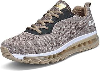 c685a721 Hombre Mujer Zapatillas Deporte para Zapatillas de Ligeras Running  Transpirables Cómodas Correr para Zapatos de Malla