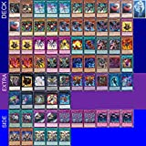 YUGIOH Tournament Ready Red-Eyes B. Dragon Deck with Complete Extra & Side Deck and exclusive Phantasm Gaming Token + a Deck Box & 100 Sleeves