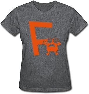 WSB Women's Tshirts Geek Monster F Mono Custom Made T Shirts Black