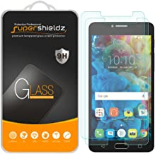 (2 Pack) Supershieldz for Alcatel Pop 4S Tempered Glass Screen Protector, Anti Scratch, Bubble Free