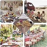 Sayopin Gold Serviettenringe 12 Stück Serviettenringe Set, Tischdekoration Serviettenhalter für Hochzeit Hotel Tisch Dekoration Party Serviettenringe - 6