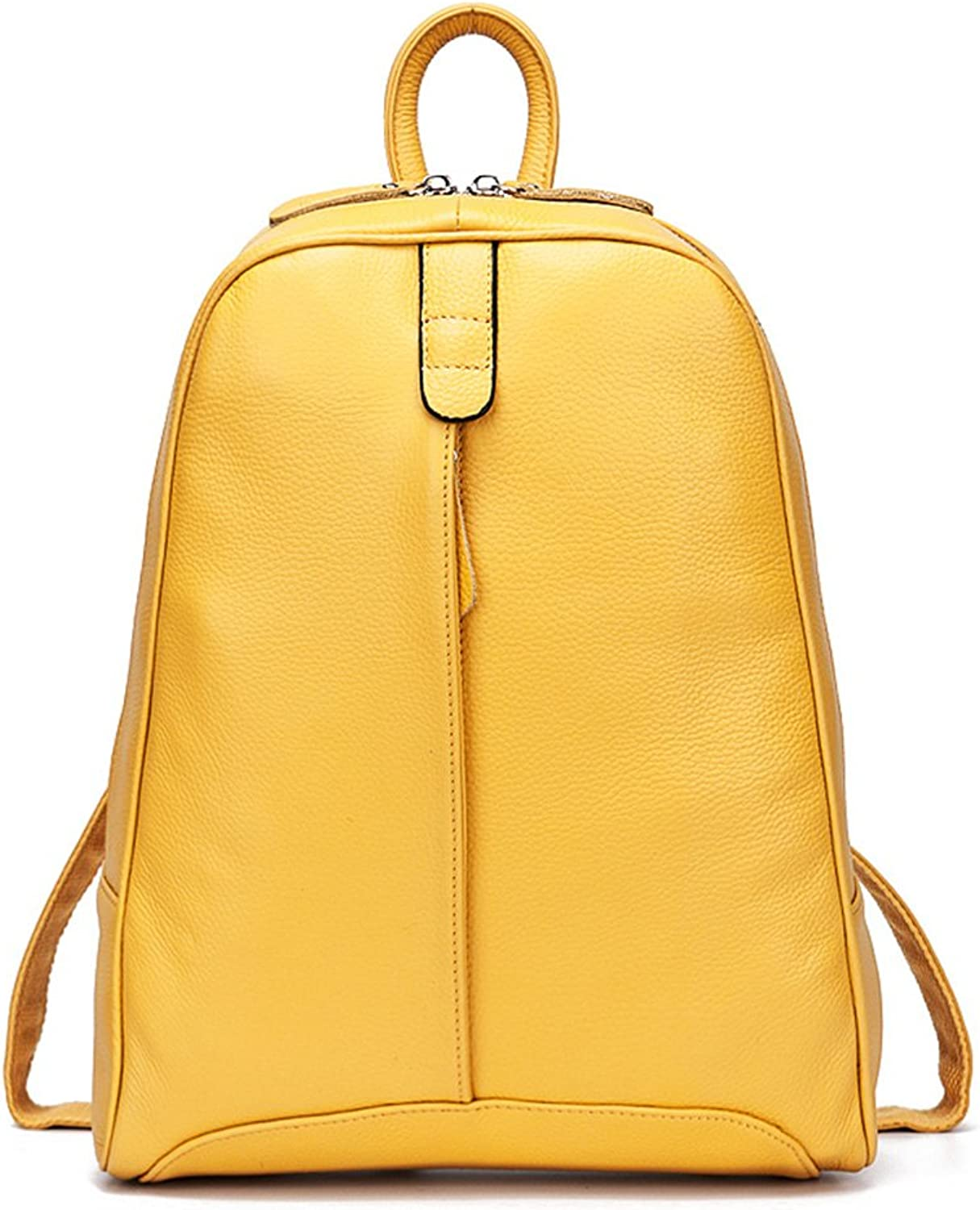 DHL Delivery Fashion Genuine Leather Backpack Women Laptop Casual Knapsack Travel Girls
