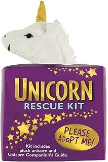 Unicorn Rescue Adoption Kit Plush Stuffie Gift
