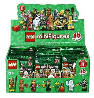 Minifiguren - Serie 11 - Kiste mit 60 Figuren (6029152) (B00C09RARA) | Amazon price tracker / tracking, Amazon price history charts, Amazon price watches, Amazon price drop alerts