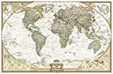 Executive Weltkarte, politisch,(Standardformat) 117 x 76cm(National Geographic Reference Map)