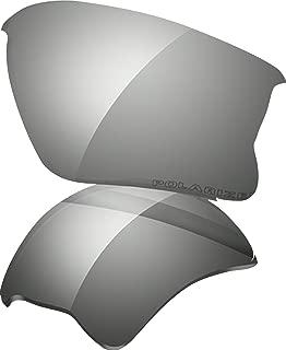 Oakley Flak Jacket XLJ Adult Lens Sunglass Accessories - Black Iridium Polarized