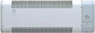 Vortice Microrapid 2000-V0 Gris, Color blanco 2000W Radiador/ventilador - Calefactor (Radiador/ventilador, Pared, Gris, Blanco, 2000 W, 2000 W, 633 mm)
